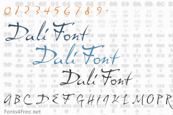 Aesthetic atmospheric dali tourist font png image_picture free.