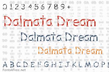 Dalmata Dream Font