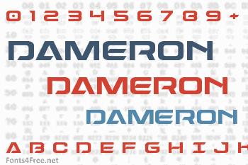 Dameron Font