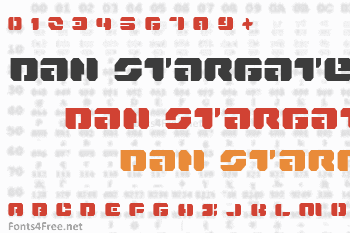Dan Stargate Font