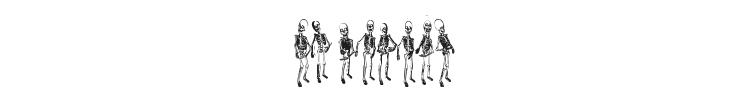 Dancing Dead Font Preview