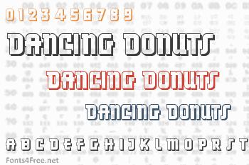 Dancing Donuts Font