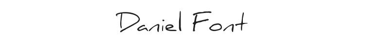 Daniel Font Preview