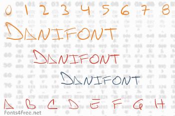 Danifont Font