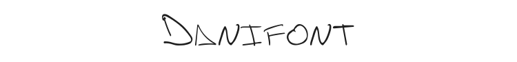 Danifont Font Preview