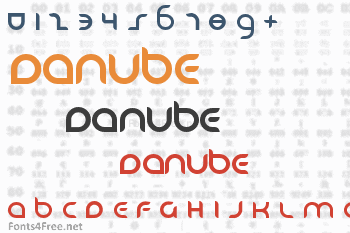 Danube Font