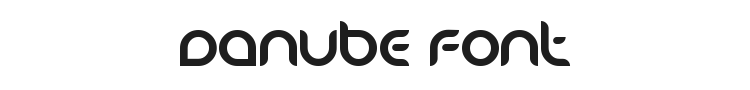 Danube Font Preview