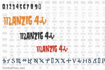 Danzig 4P Font