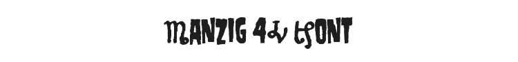 Danzig 4P Font Preview