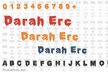Darah Erc Font