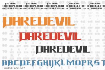 Daredevil Font