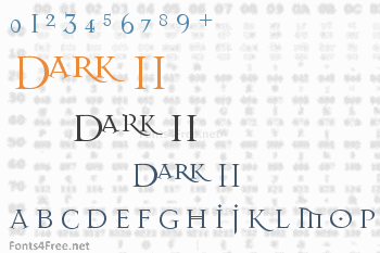 Dark 11 Font