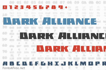 Dark Alliance Font