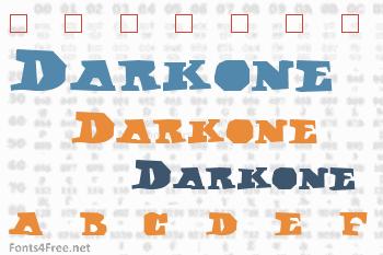 Darkone Font