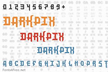 DarkPix Font