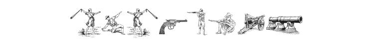 Das Krieg Font Preview