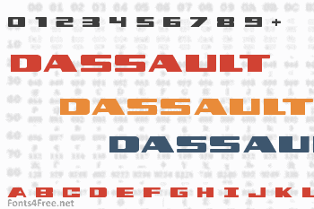 Dassault Font