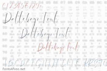 Dattebayo Font