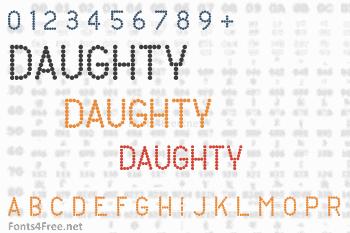Daughty Font