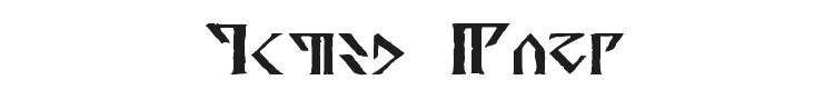 Davek Font Preview