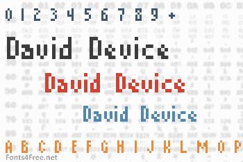 David Device Font