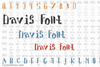 Davis Font