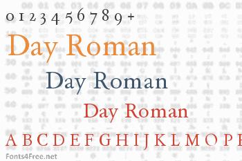 Day Roman Font