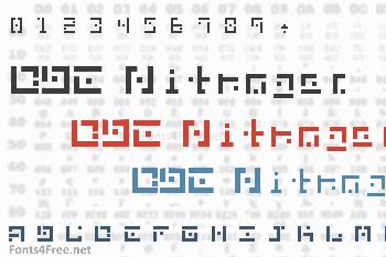 DBE Nitrogen Font