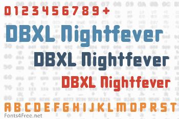 DBXL Nightfever Font