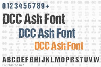 DCC Ash Font