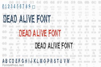 Dead Alive Font
