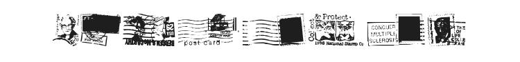 Dead Letter Office Font Preview