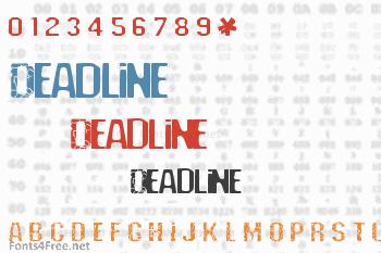 Deadline Font