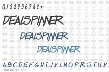 Dealspinner Font