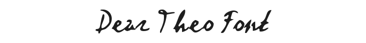 Dear Theo Font Preview