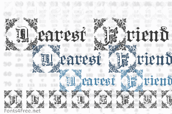 Dearest Friend Font