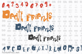 Death Friends Font