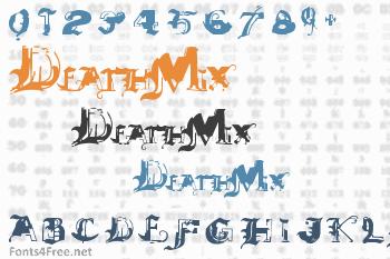 DeathMix Font