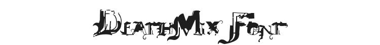 DeathMix Font Preview