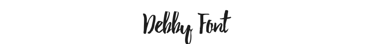 Debby Font Preview