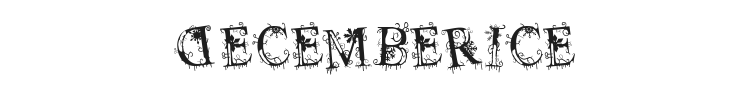 Decemberice Font Preview
