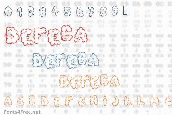 Defeca Font