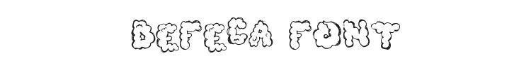 Defeca Font Preview