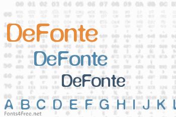 DeFonte Font