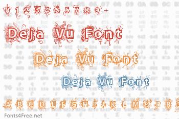 Deja Vu Font