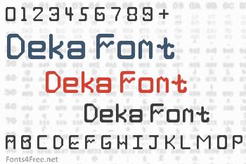 Deka Font