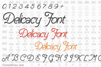 Delicacy Font