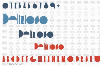 Delizioso Font