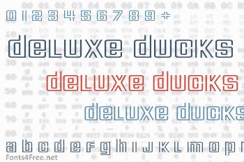 Deluxe Ducks Font