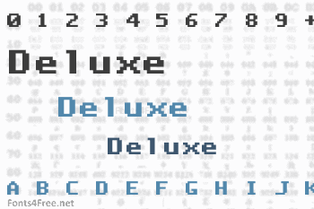 Deluxe Font